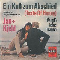 Cover Jan und Kjeld - Ein Kuß zum Abschied