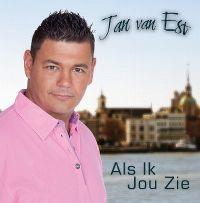 Cover Jan van Est - Als ik jou zie