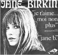 Cover Jane Birkin avec Serge Gainsbourg - Je t'aime... moi non plus