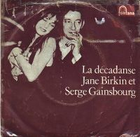 Cover Jane Birkin et Serge Gainsbourg - La décadanse