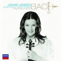 Cover Janine Jansen - Bach - Inventions & Partita