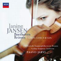 Cover Janine Jansen - Beethoven/Britten: Violin Concertos