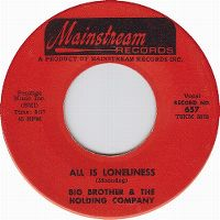 Cover Janis Joplin & Big Brother And The Holding Company - All Is Loneliness