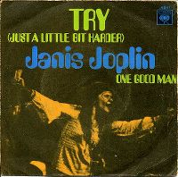 Cover Janis Joplin & Kozmic Blues Band - Try (Just A Little Bit Harder)