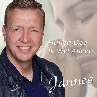 Cover Jannes - Huilen doe ik wel alleen