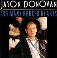 Cover Jason Donovan - Too Many Broken Hearts