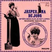 Cover Jasperina de Jong - Op één been kun je niet lopen