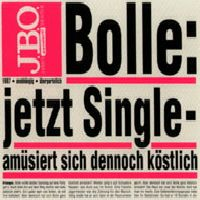 Cover J.B.O. - Bolle