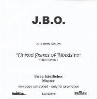Cover J.B.O. - Glaubensbekenntnis