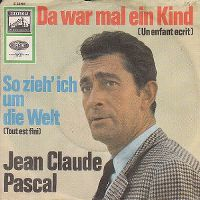 Cover Jean-Claude Pascal - Da war mal ein Kind