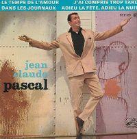 Cover Jean-Claude Pascal - Dans les journaux