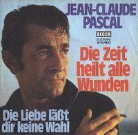 Cover Jean-Claude Pascal - Die Zeit heilt alle Wunden
