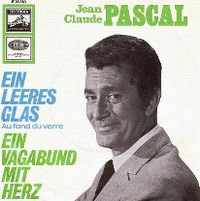 Cover Jean-Claude Pascal - Ein leeres Glas