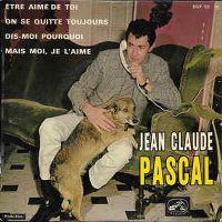 Cover Jean-Claude Pascal - Être aimé de toi