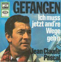 Cover Jean-Claude Pascal - Gefangen