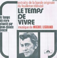 Cover Jean-Claude Pascal - Le temps de vivre