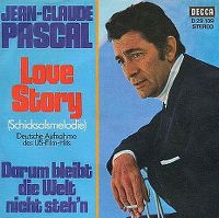 Cover Jean-Claude Pascal - Love Story (Schicksalsmelodie)