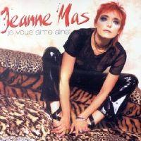 Cover Jeanne Mas - Je vous aime ainsi