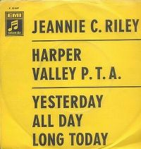 Cover Jeannie C. Riley - Harper Valley P.T.A.