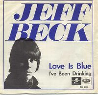 Cover Jeff Beck - Love Is Blue