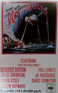 """Cover Jeff Wayne - Musical Version Of """"The War Of The Worlds"""""""