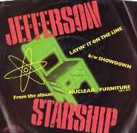 Cover Jefferson Starship - Layin' It On The Line