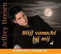 Cover Jeffrey Heesen - Blijf vanacht bij mij