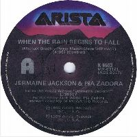 Cover Jermaine Jackson & Pia Zadora - When The Rain Begins To Fall