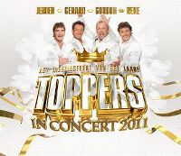 Cover Jeroen - Gerard - Gordon - Rene - Toppers In Concert 2011