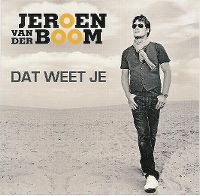 Cover Jeroen van der Boom - Dat weet je