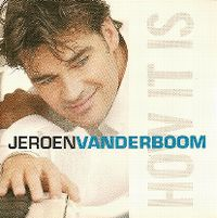 Cover Jeroen van der Boom - How It Is