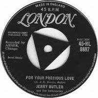 Cover Jerry Butler & The Impressions - For Your Precious Love