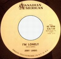 Cover Jerry Landis - I'm Lonely