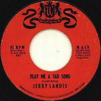 Cover Jerry Landis - Play Me A Sad Song