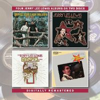 Cover Jerry Lee Lewis - Four Jerry Lewis Albums On Two Discs