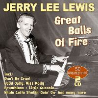 Cover Jerry Lee Lewis - Great Balls Of Fire - 50 Greatest-Hits