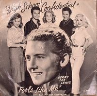 Cover Jerry Lee Lewis - High School Confidential