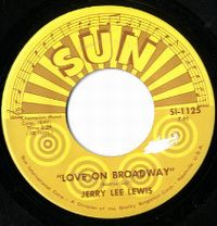 Cover Jerry Lee Lewis - Love On Broadway
