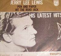 Cover Jerry Lee Lewis - Pen And Paper