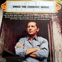Cover Jerry Lee Lewis - Sings The Country Music Hall Of Fame Hits Vol. 2