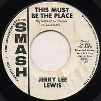 Cover Jerry Lee Lewis - This Must Be The Place