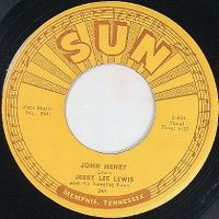 Cover Jerry Lee Lewis And His Pumping Piano - John Henry
