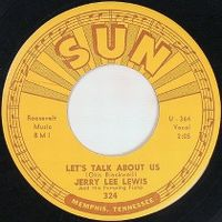 Cover Jerry Lee Lewis And His Pumping Piano - Let's Talk About Us