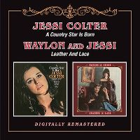 Cover Jessi Colter / Waylon And Jessi - A Country Star Is Born / Leather And Lace