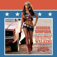 Cover Jessica Simpson - These Boots Are Made For Walkin'