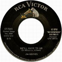 Cover Jim Reeves - He'll Have To Go