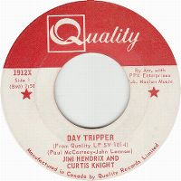 Cover Jimi Hendrix & Curtis Knight - Day Tripper