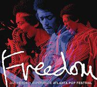Cover Jimi Hendrix Experience - Freedom - Atlanta Pop Festival