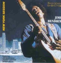 Cover Jimi Hendrix with Jim Morrison, Johnny Winter & Buddy Miles - New York Session
