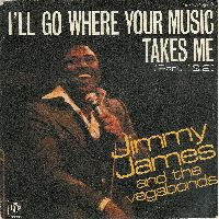 Cover Jimmy James And The Vagabonds - I'll Go Where Your Music Takes Me